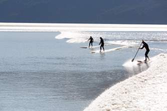 Alaska bore tide 16 A0933 Alaska Channel