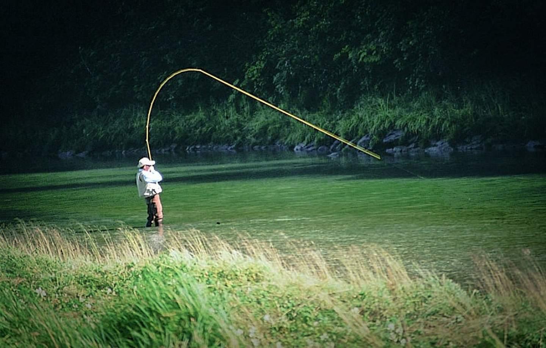 Fly-in fishing