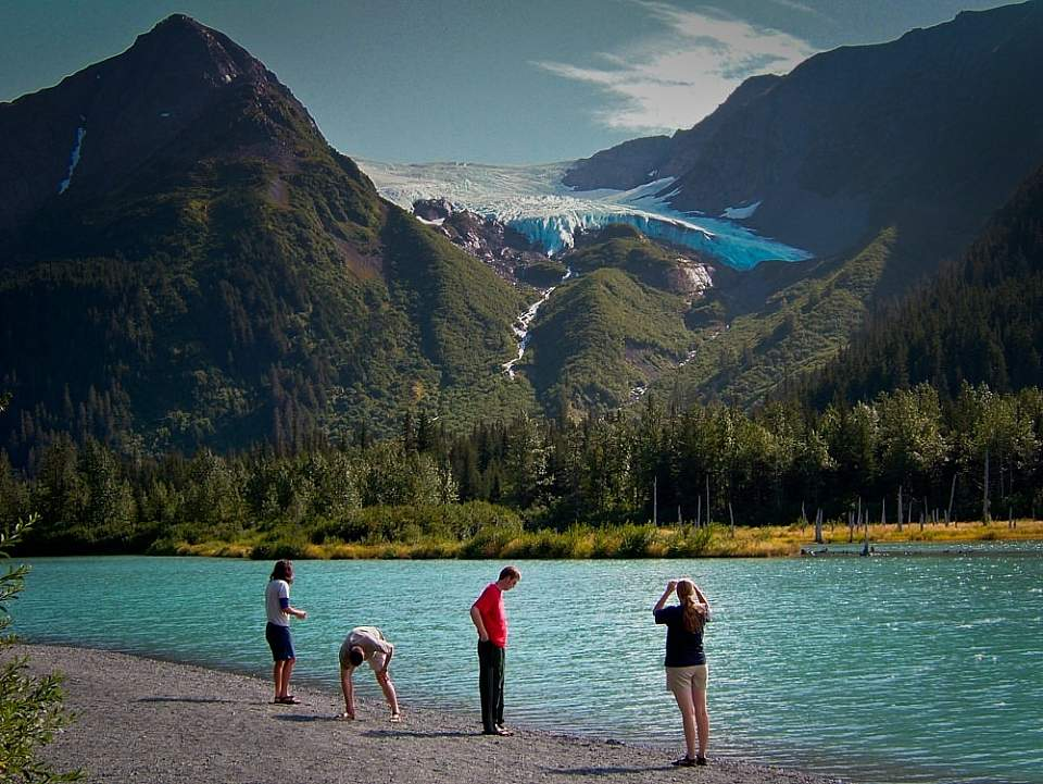 Explorer and Middle Glacier