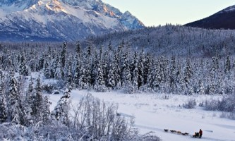 Alaska in march eagle river chugach mountains dog mushers ed boudreau Ed Boudreau