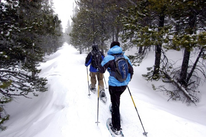 Rent snowshoes from Outdoor Gear Rental