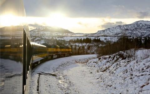 The Aurora Winter Train Anchorage, Alaska
