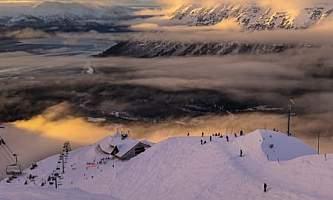 Alaska in december solstice season in alaska 0126 Bob Kaufman Alaska Channel
