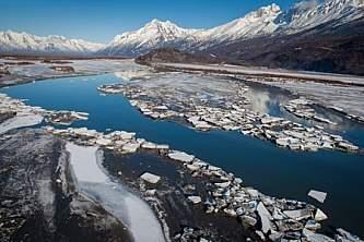 Alaska in april breakup in alaska 1 Copyright Alaska Channel