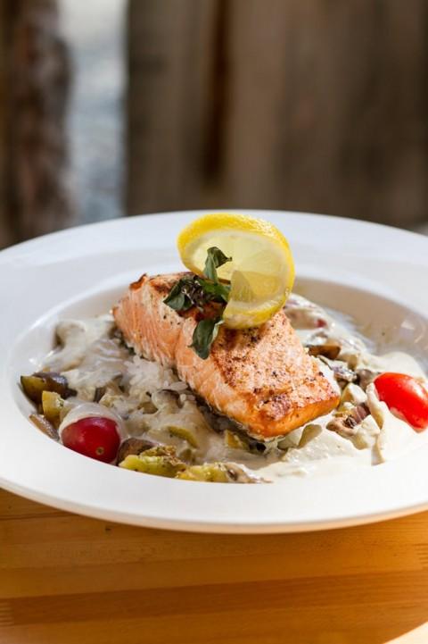 Enjoy classic Alaskan salmon