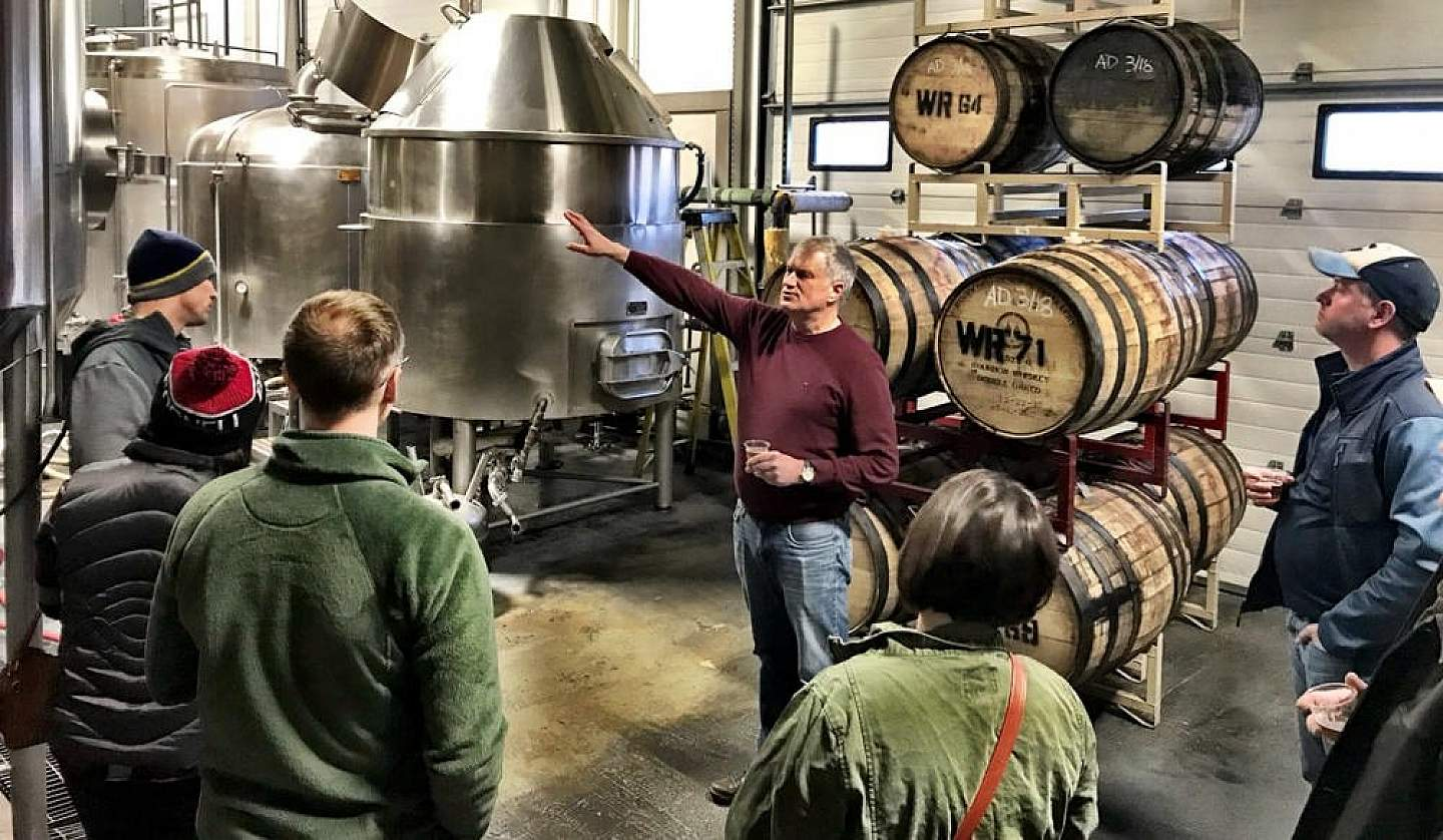 Take a brewery tour and try Alaska's excellent beers.