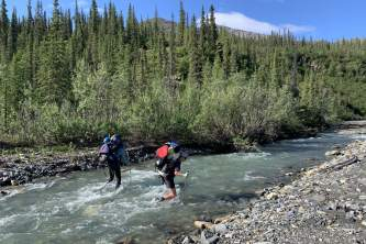 Alaskan backpacking gear list haley johnston AC Image River Crossings Image 4