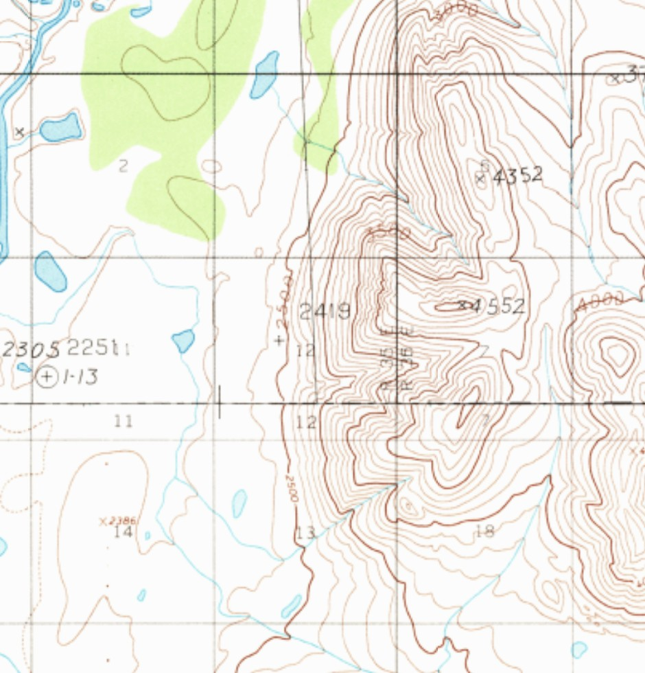 Haley Johnston AC Image Backcountry Navigation Topo Sample Colors
