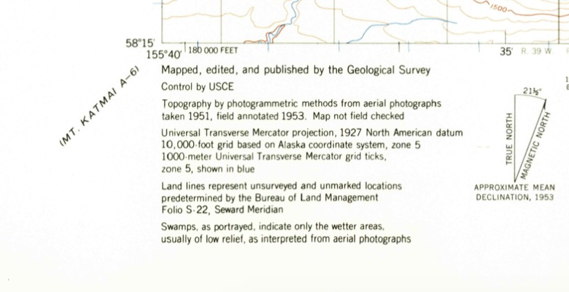Haley Johnston AC Image Backcountry Navigation Declination and Date of Creation Revision