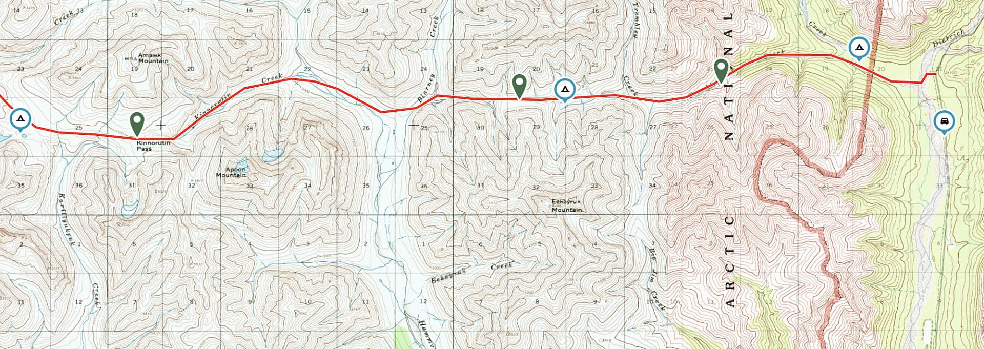 Haley Johnston AC Image Backcountry Navigation Route Planning with Digital Topo