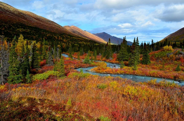 South Fork Trail in Eagle River Alaska