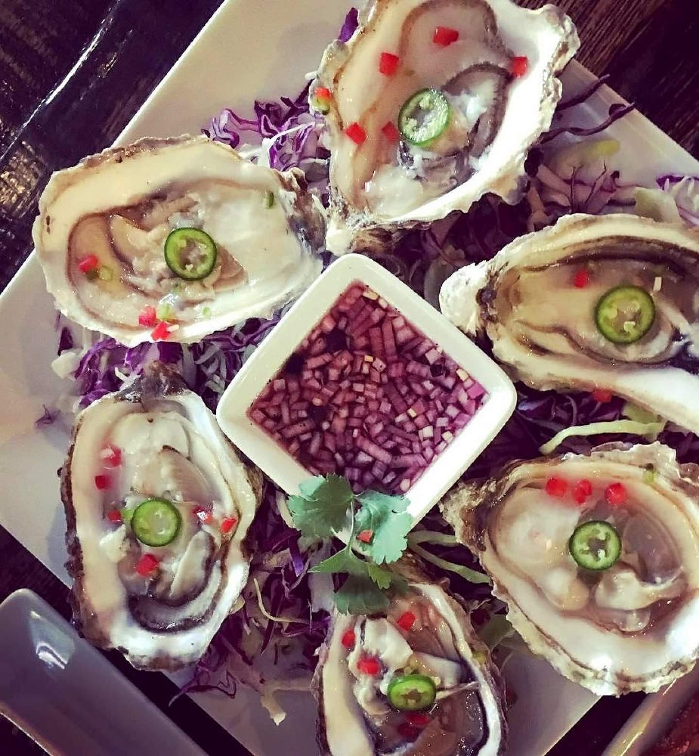 Sample Alaskan oysters