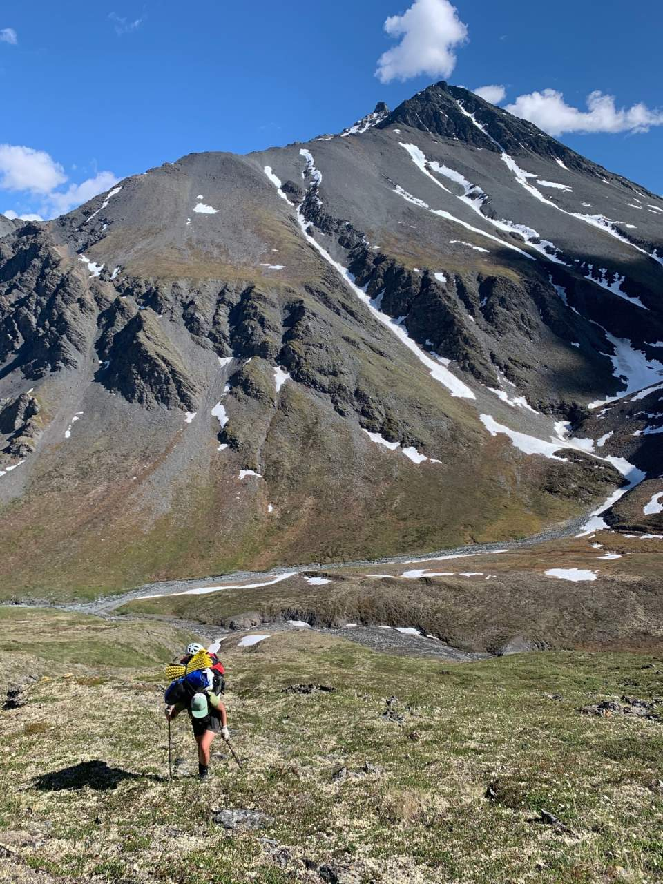 Haley Johnston AC Image Tips for AK Backpacking Trekking Poles