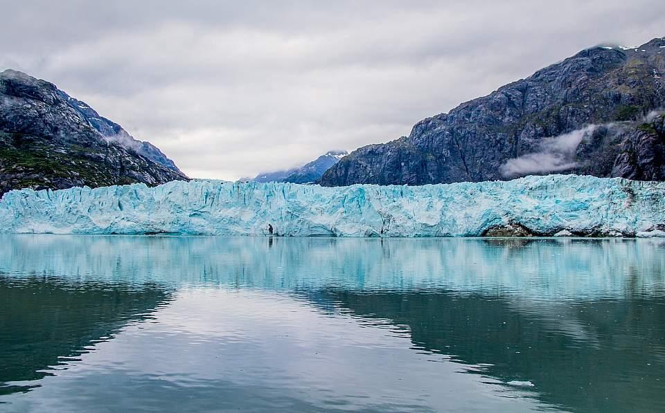 Tidewater glacier in Glacier Bay National Park