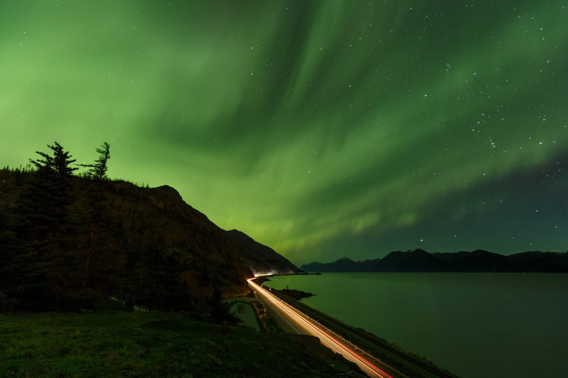 Jeff Schultz Anchorage Northern Lights Viewing 161013 5 M9041