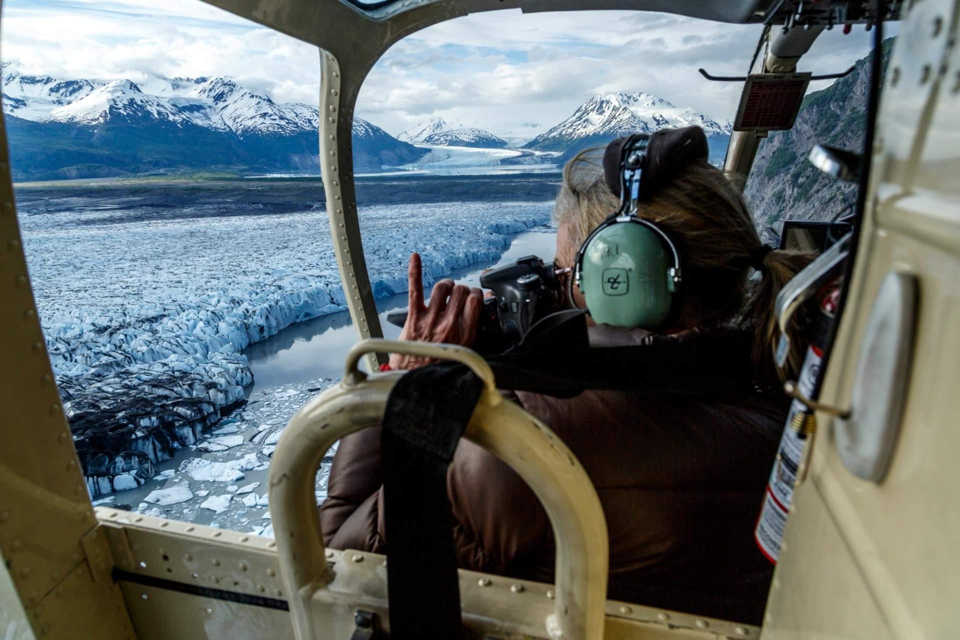 Jeff Schultz Colony Glacier Flyout 160604 5 M9398