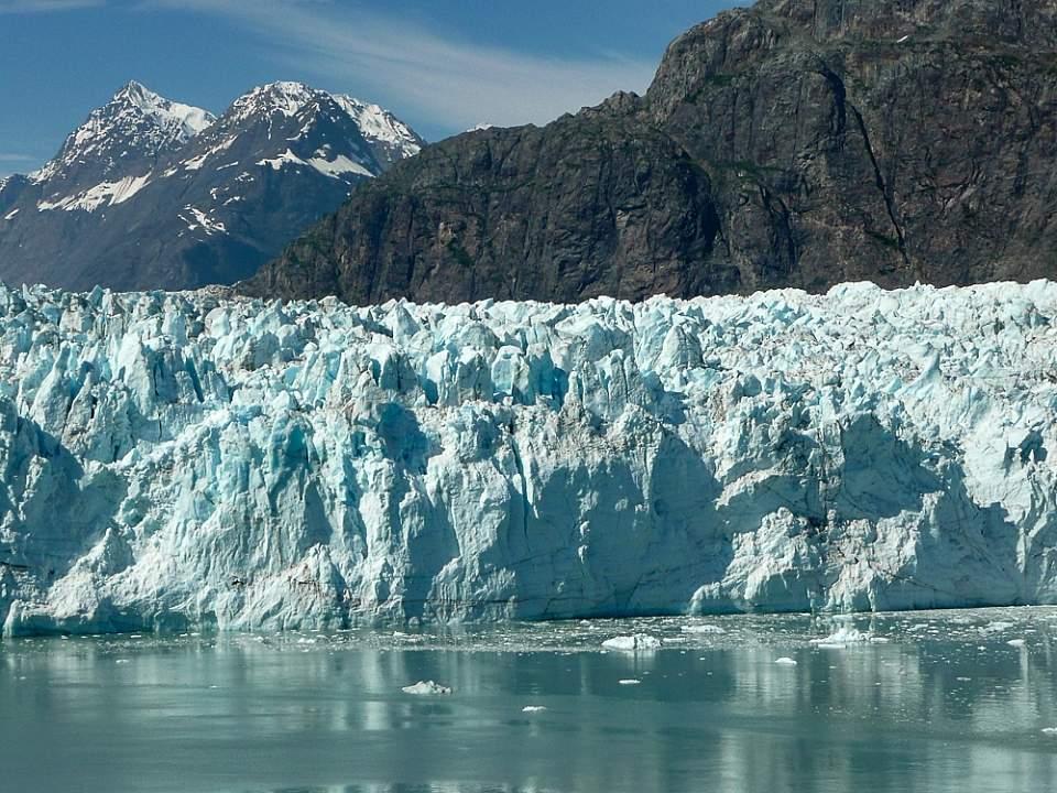 Marjorie glacier in Glacier Bay National Park