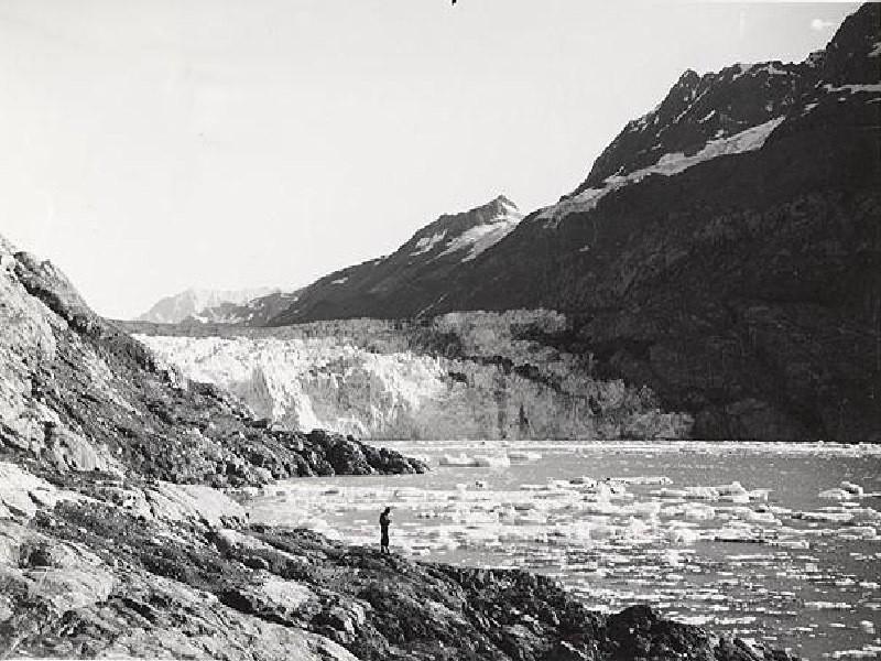 Bruce Molnia Glacier Photos Lamplugh Glacier View1 1941