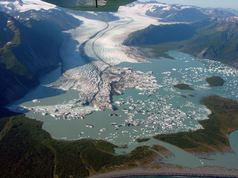 Bruce Molnia Glacier Photos Bear Glacier View1 2002