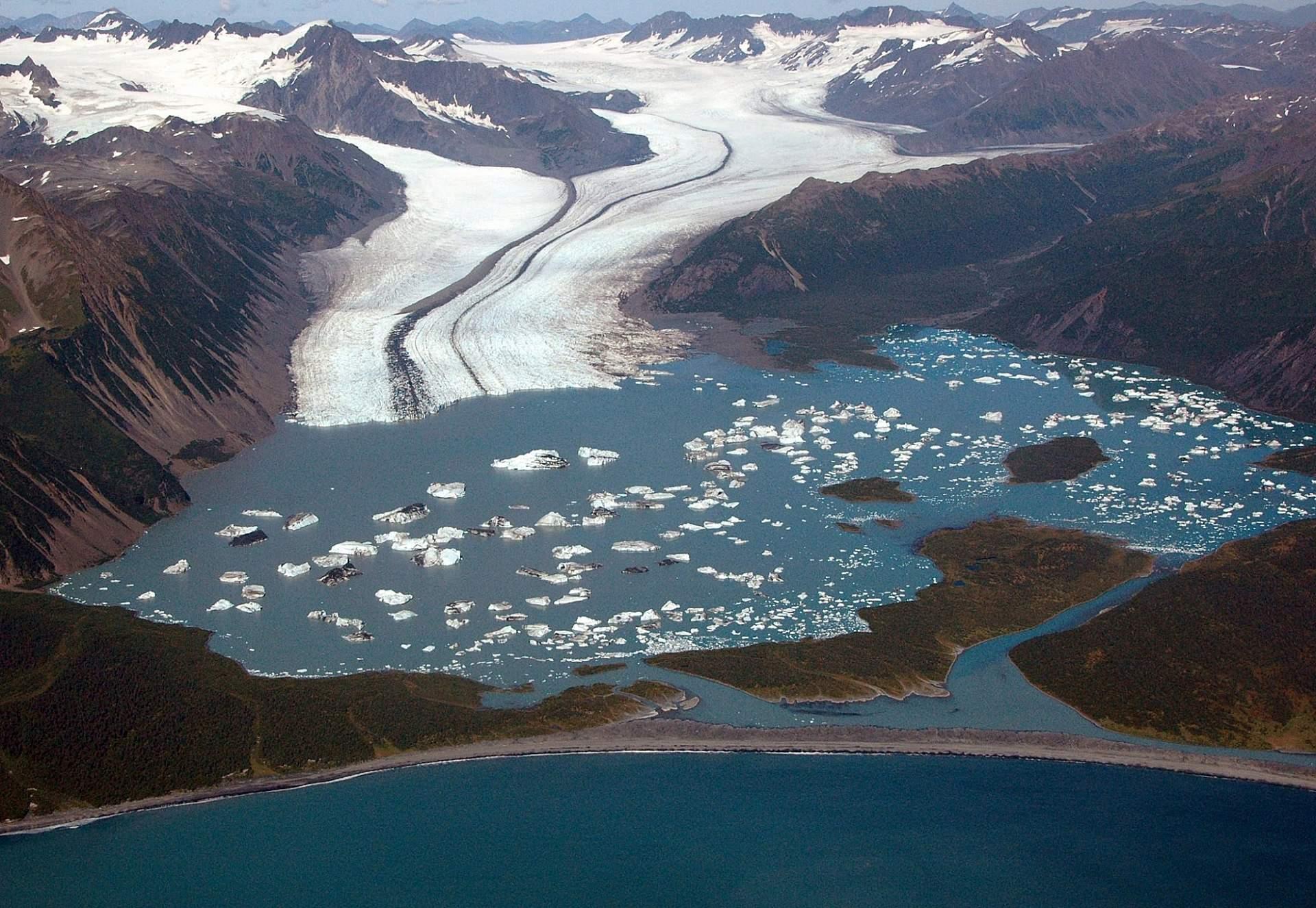 Bruce Molnia Glacier Photos Bear Glacier View1 2007