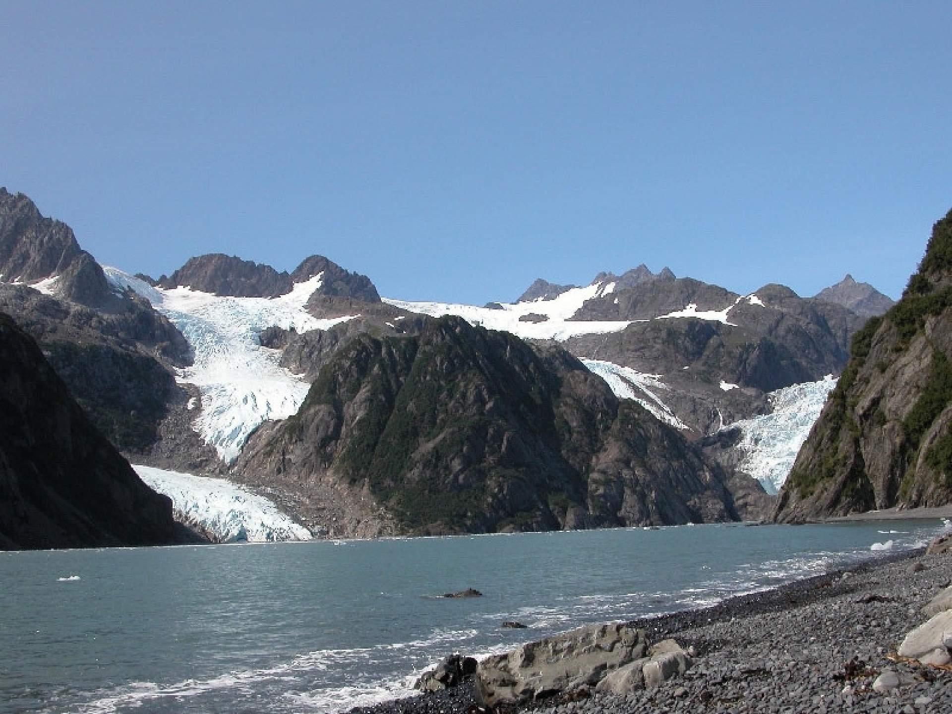 Bruce Molnia Glacier Photos Holgate Glacier View1 2004