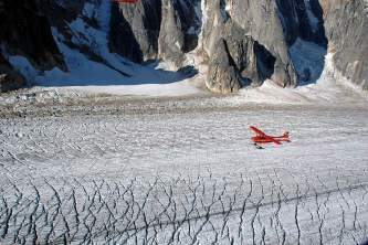 Great Gorgeof Ruth Glacier Firn Line