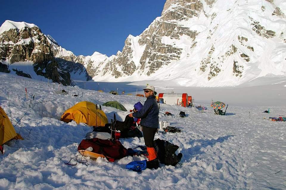 Mt Mc Kinley Basecamp The Weatheris Flyable