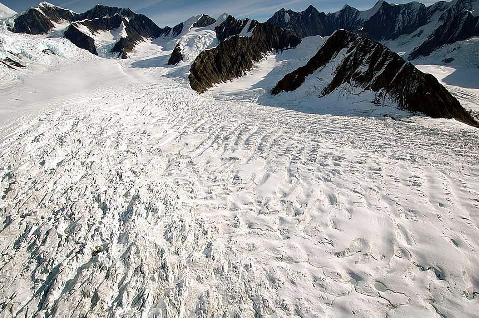 Ruth Ampitheatre Glaciers