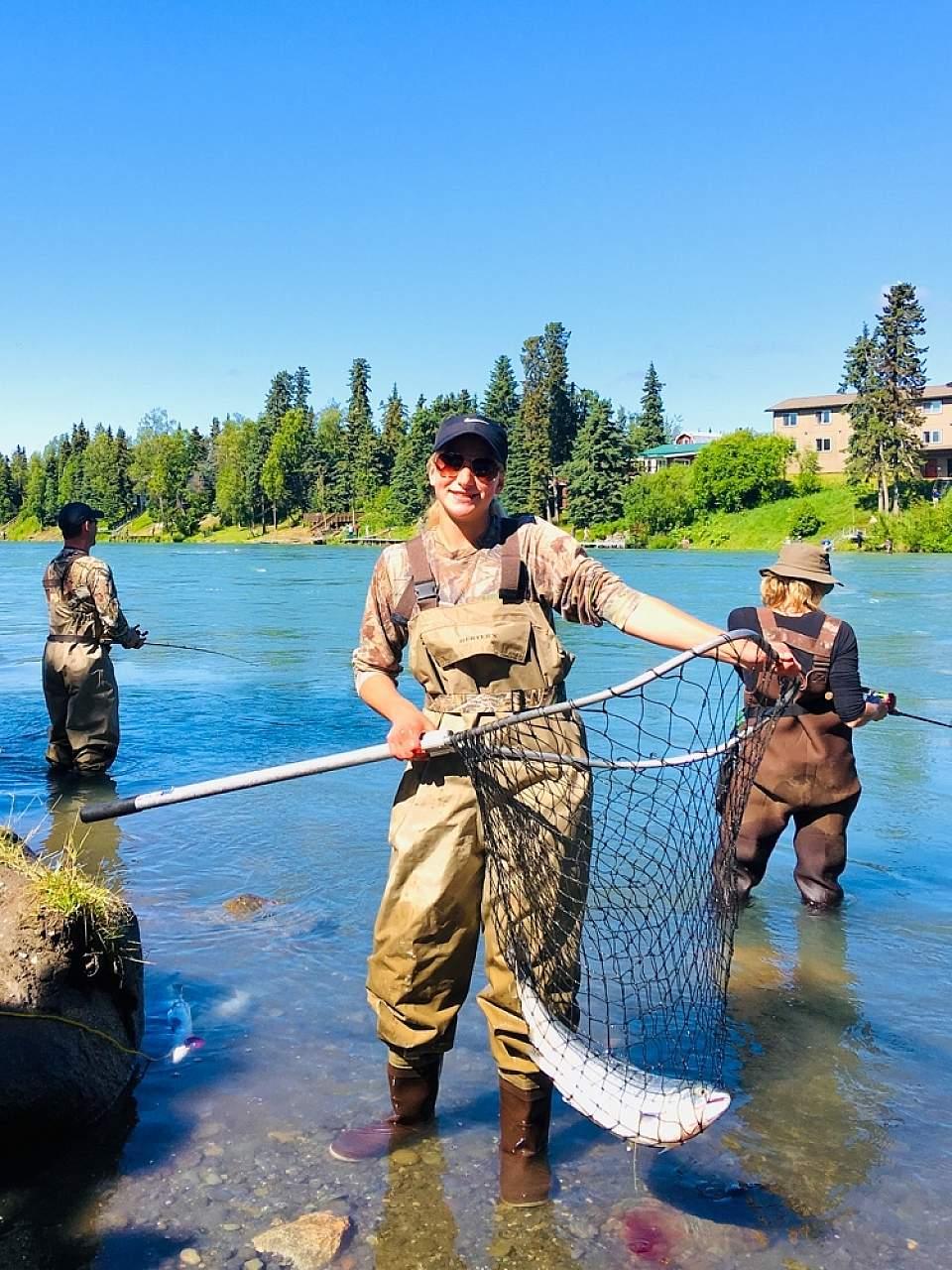 Cast a line in the Kenai River