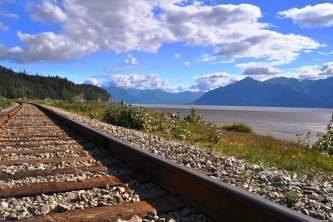 Alaska railroad advice turnagain arm railroad tracks deanna cagle Deanna Cagle