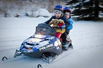 Alaska Snowmobiling