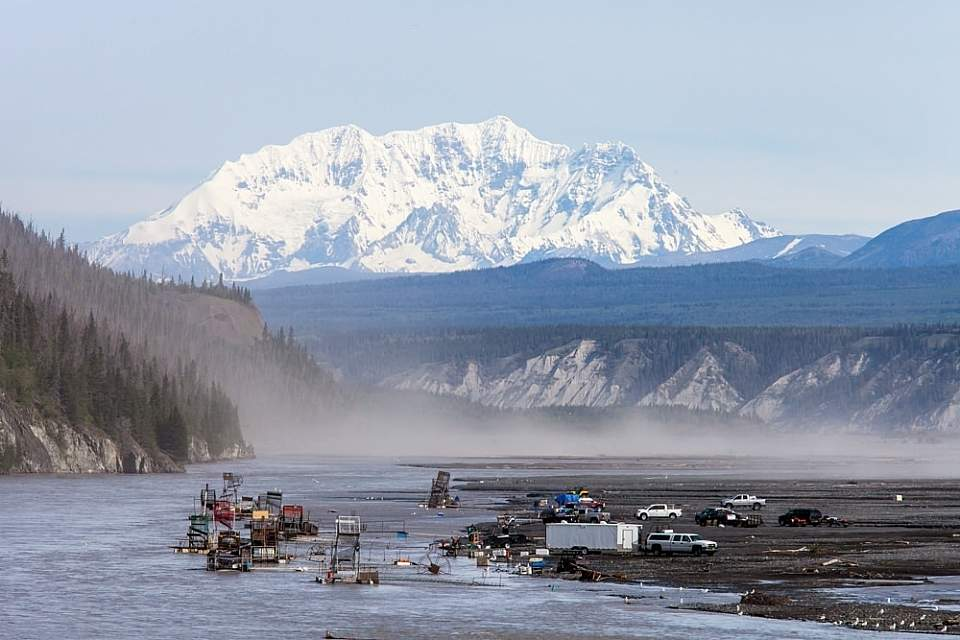 Chitina things to do alaska chitina fishwheels copper river mike haggerty Mike Haggerty chitina