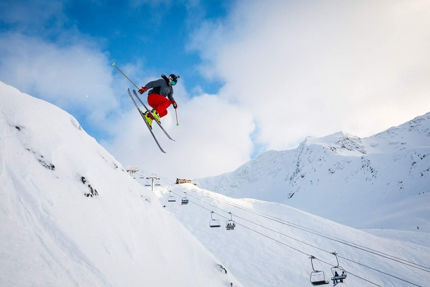 Go downhill or cross-country skiing at the acclaimed Alyeska Resort