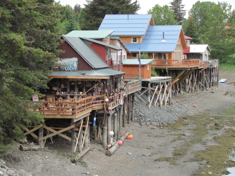 The charming boardwalk town of Seldovia.