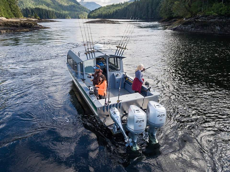 Ketchikan things to do take to the water Baranof Fishing Excursions 2018 DJI 00492019