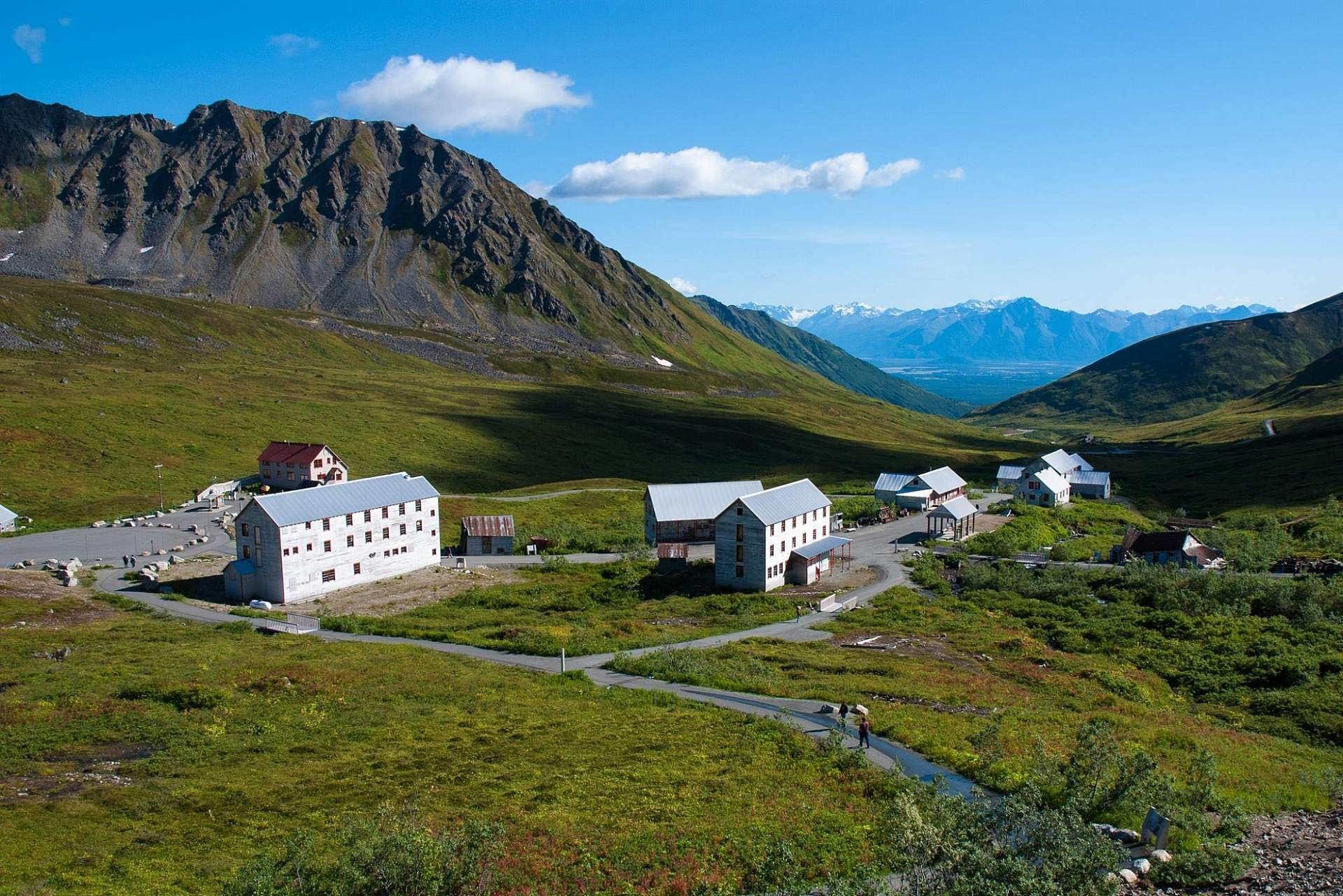 Explore the historic Independence Mine in Hatcher Pass