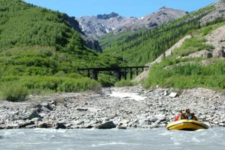 Alaska FXCD0027 Alaska Channel Nenana Raft Adventures