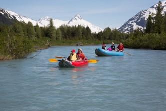 Alaska float trip portage 16 A3838 Alaska Channel 2013 06 15 Portage River Float w Wanamakers