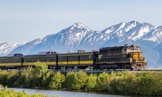 Alaska railroad tours 16 A2715 Alaska Channel
