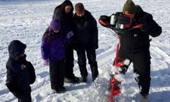 alaska ice fishing