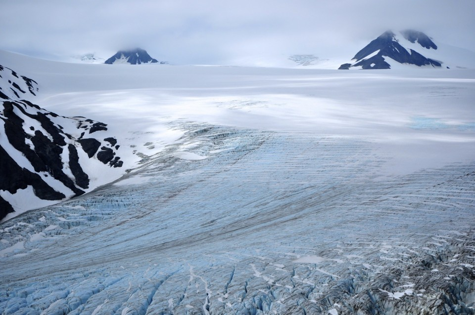 Harding Ice Field is one of Alaska's most spectacular sights