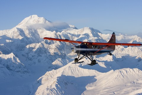 Mat Su Valley Winter Activities Talkeetna Air Taxi otterhr