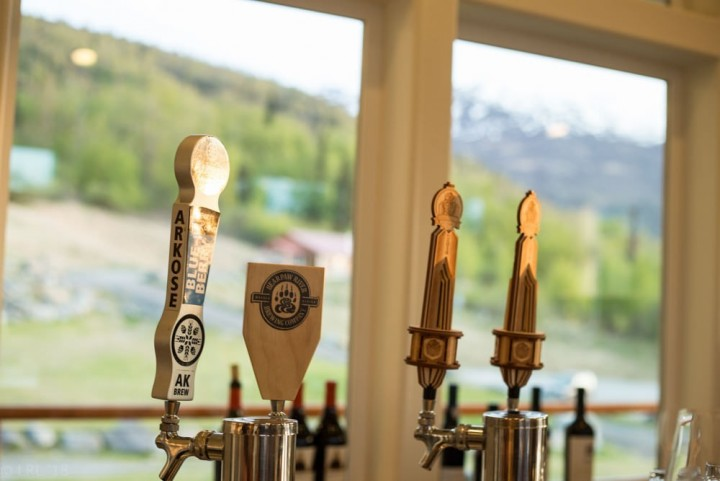 Local brews are available on tap at many area restaurants, like Raven's Perch