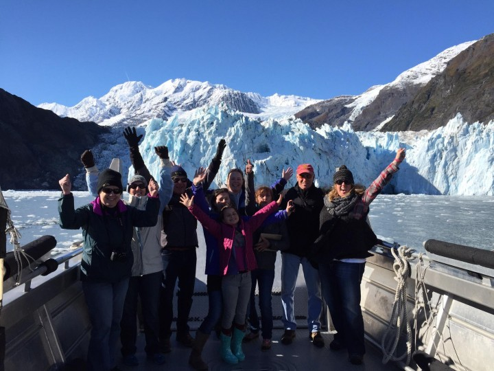 Kelly Bender Lazy Otter Blackstone Glacier Cruise