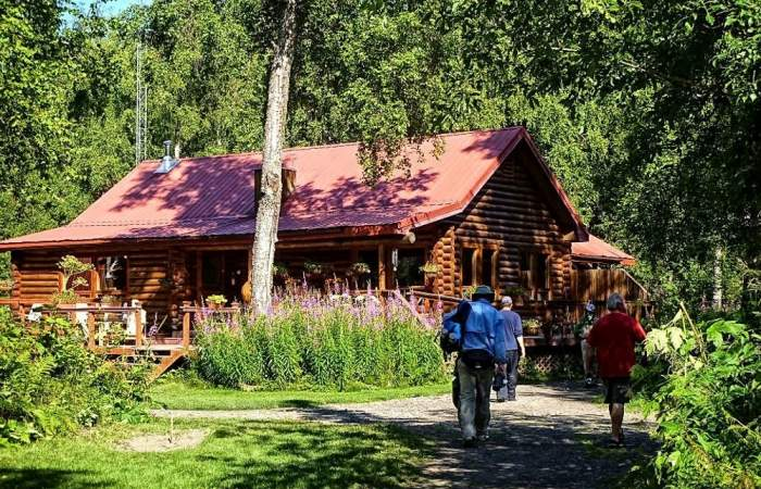 Anchorage wilderness place lodge