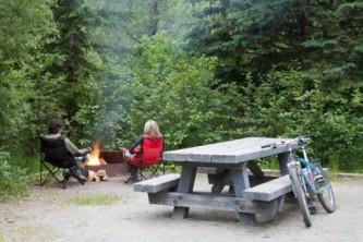 Chugach state park rv parks campgrounds Williwaw Campground USFS Ron Niebrugge wildnatureimages com