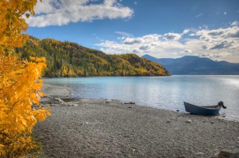 Cooper landing alaska lake