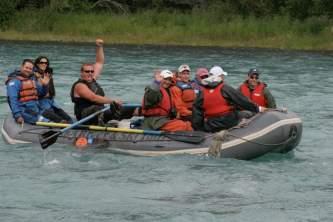 Cooper landing rafting tours alaska river adventures