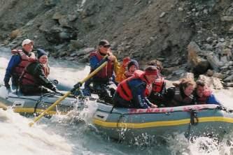 Denali national park rafting tours Alaska Channel