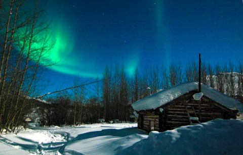 Check off seeing the spectacular Northern Lights from your bucket list